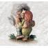 840180 Dancing troll couple