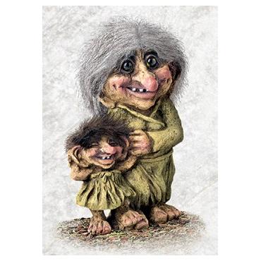 840266 Grandma troll and grand child