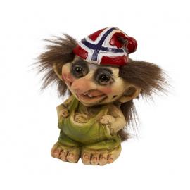 840.091 Troll mit Flagge Hut