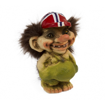 840092 Troll with flag cap