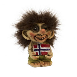 840093 Troll with flag