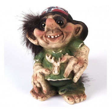 840039 Hip hop troll with flag cap
