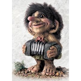 840246 Troll playing accordion