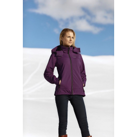 Soft Shell Lady Purple/Grey