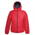 Ultra Light Down Jacket w/hood, Red