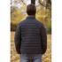 Ultra Light Ultra Light Down Jacket w/hood, Black/Grey
