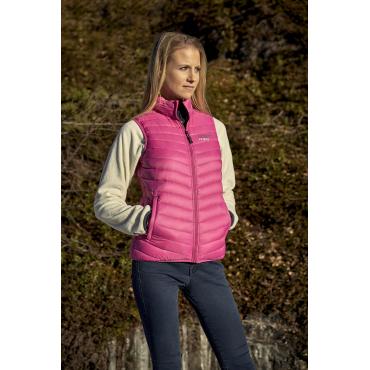 Ultra Light Down Vest Pink