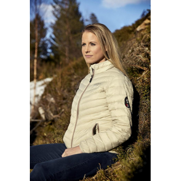 Ultra Light Down Jacket Beige