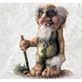 840111 Troll with a stick