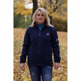Fleece Jacket Lady Navy