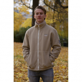 Fleece Jacket Beige