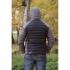 Ultra Down Jacket Unisex Grey/Black