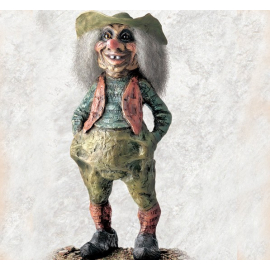 840207 Troll man with hat large