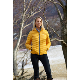 Ultra Light Down Jacket Yellow, Lady