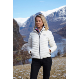 Ultra Light Down Jacket White, Lady
