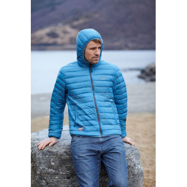 Ultra Light Down Jacket Bright Blue