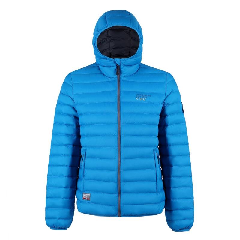 Ultra Light Down Jacket Bright Blue, Unisex Scandinavian Explorer