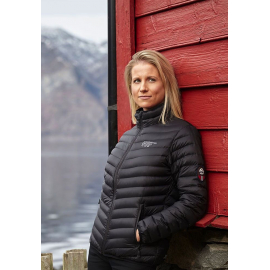 Ultra Light Down Jacket Black, Lady