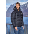 Unisex Down Jacket Thick Black