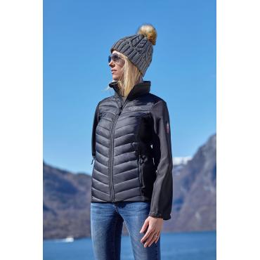 Hybrid Unisex Jacket Black