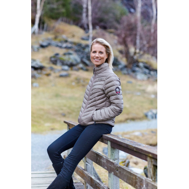 Ultra Light Down Jacket Caffe Latte