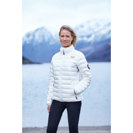 Down Jacket Seamless White