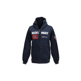 Norway Hoody with zip - Navy