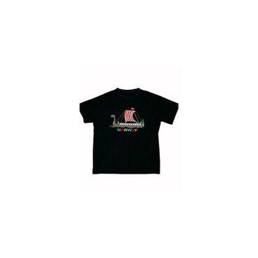 T-shirt vikingship Children Navy