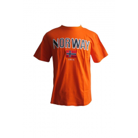 Norway T-Shirt - Orange