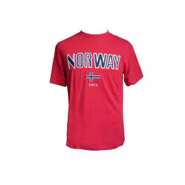 Norway T-Shirt Red