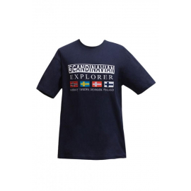 T-shirt 4 flags Unisex Navy