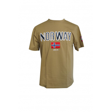 Norway T-Shirt Brown
