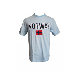 Norway T-Shirt Light Blue