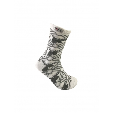 Elg socks with norwegian pattern