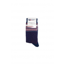 Traditional Socks with norwegian pattern