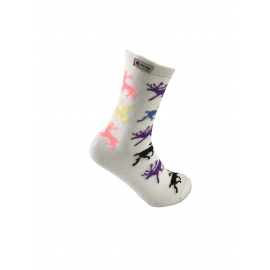 Reindeer socks multicolor