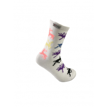 Reindeer socks multicolor