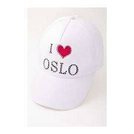 I ❤️ Oslo cap white