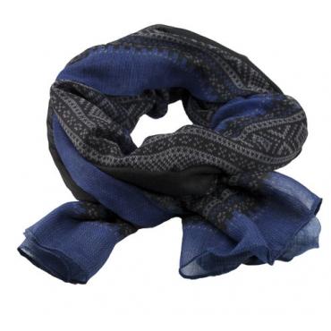 Marius Scarf in blue/black