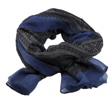 Marius Scarf in blue/black