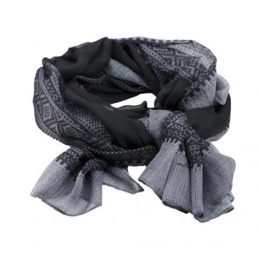 Marius Scarf in black/Grey