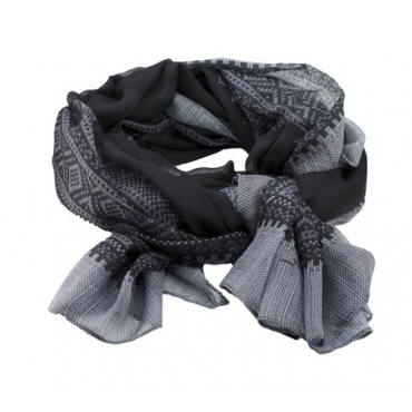 Marius Scarf in black/Grey
