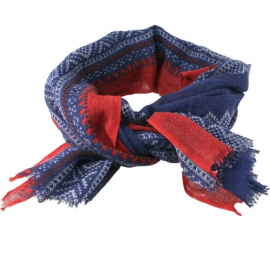 Marius Scarf in Blue/Red/White