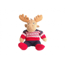 The Norwegian cuddly moose with the Marius® sweater. A perfect souvenir from Norway.
