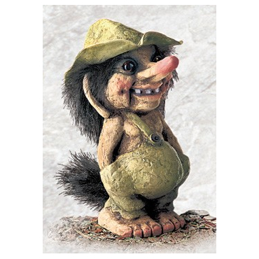 840117 Troll boy with hat