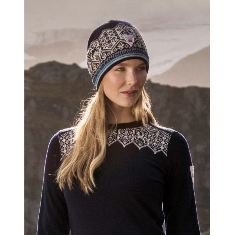 1160a184530 Lillehammer long hat Dale of Norway