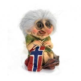 840149 Bestemor troll strikking