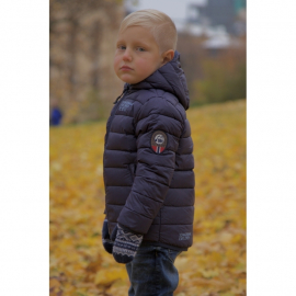 Ultra Light Down Jacket Kids Red