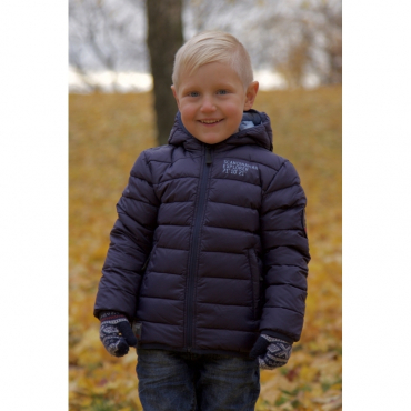 Ultra Light Down Jacket Kids Navyscandinavian Explorer