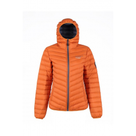 Ultra Light Down Jacket Rusty Orange, Lady